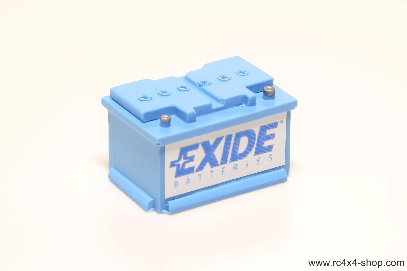 Car Battery 1/10 Blue
