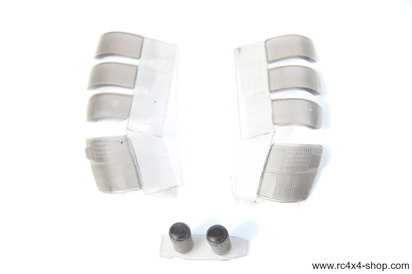 Light Buckets and smoke covers for Mitsubishi Pajero