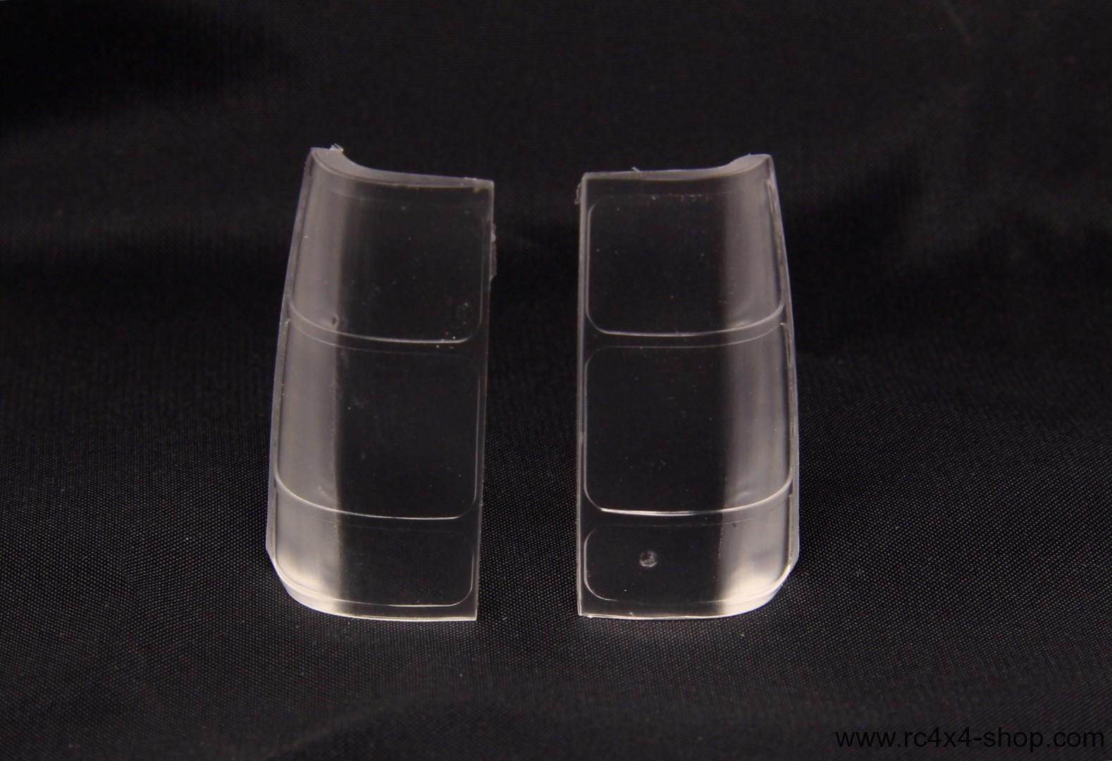 Isuzu MU Clear rear lights covers