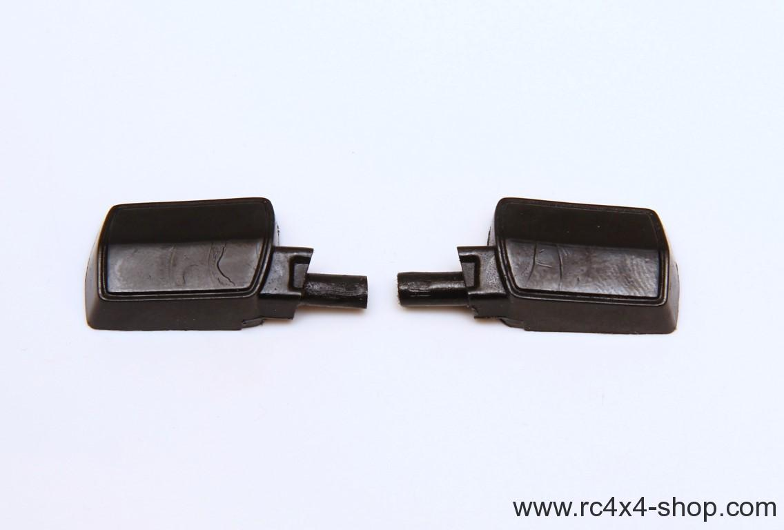 NEW Jeep Cherokee XJ Rubber Mirrors