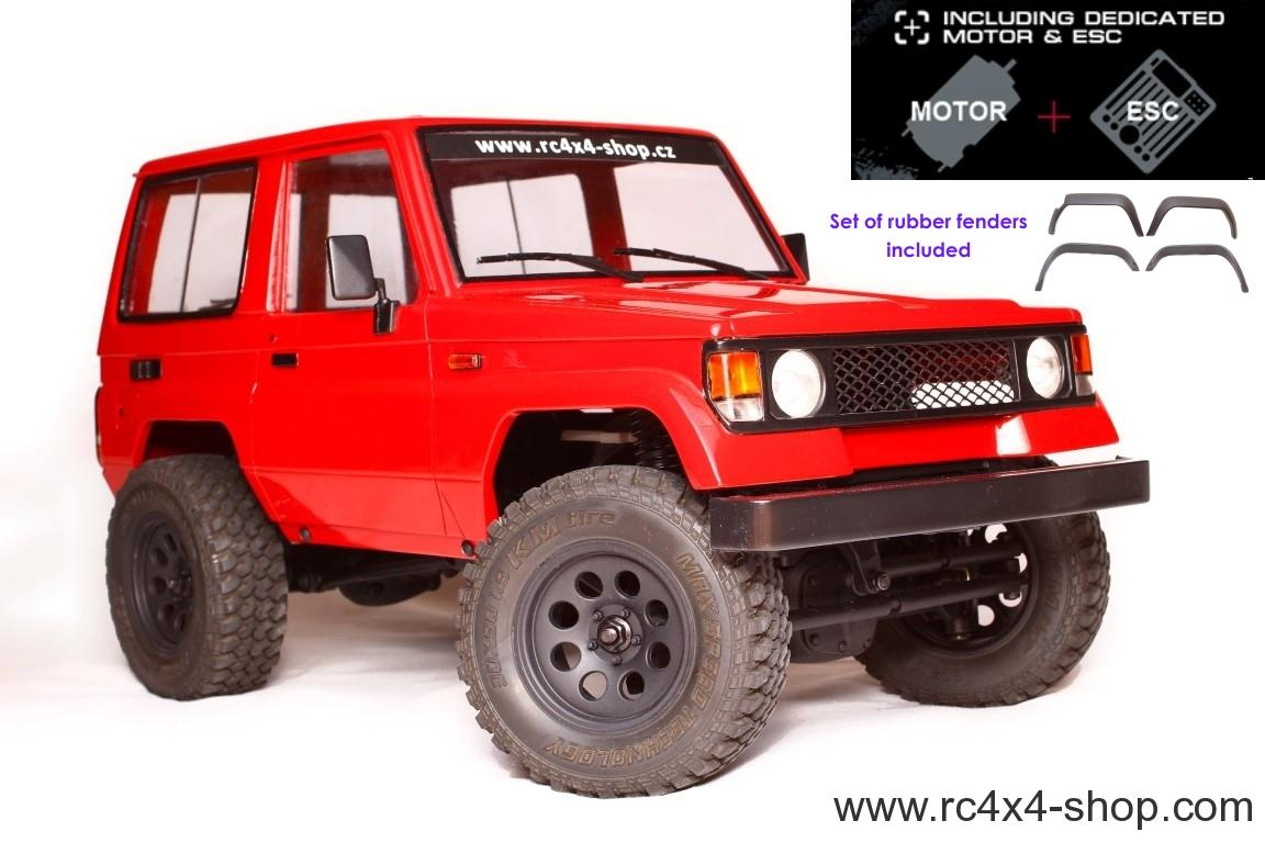 Toyota LJ70 (200mm) + CMX Chassis KIT + Motor and ESC