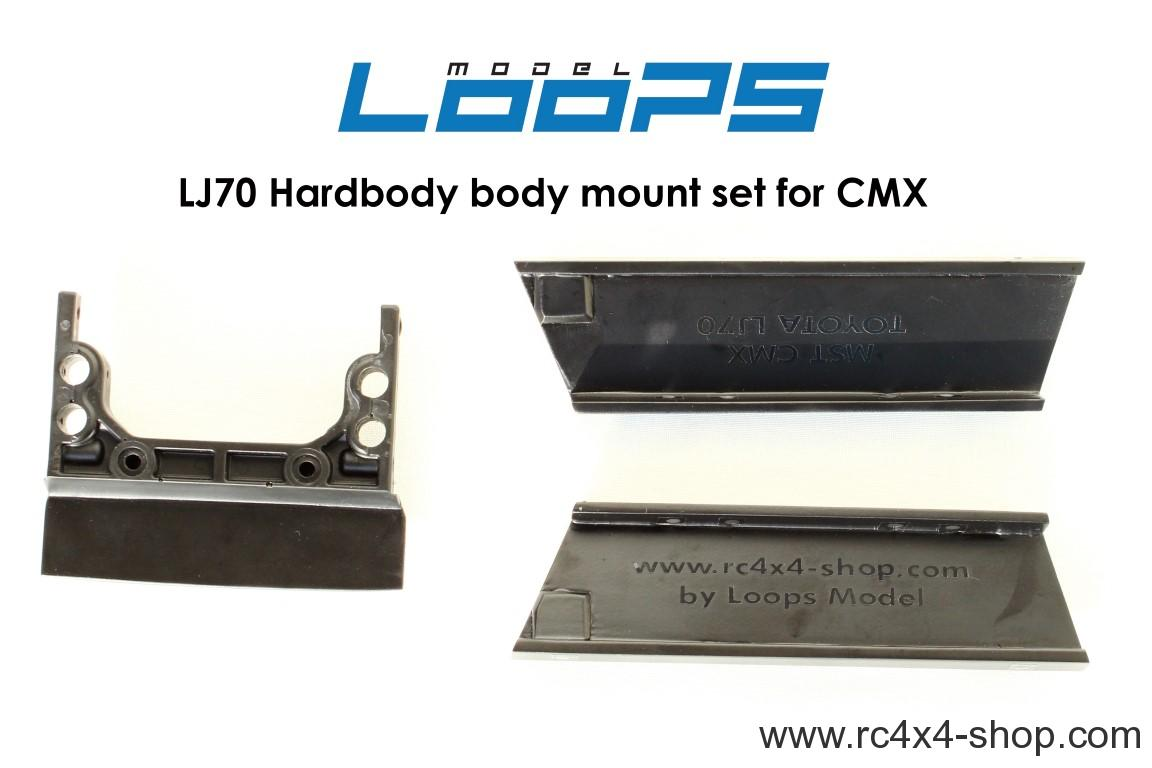 MST CMX Body mounts for Toyota LJ70
