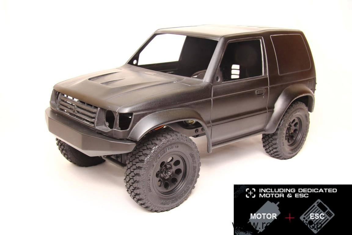 Pajero Raid + CMX Chassis KIT + Motor and ESC