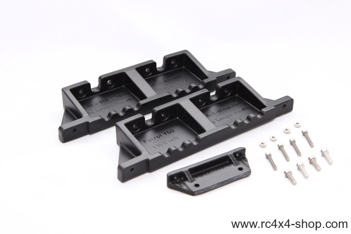 MST CFX Body mounts for Nissan Patrol Y60 Wagon