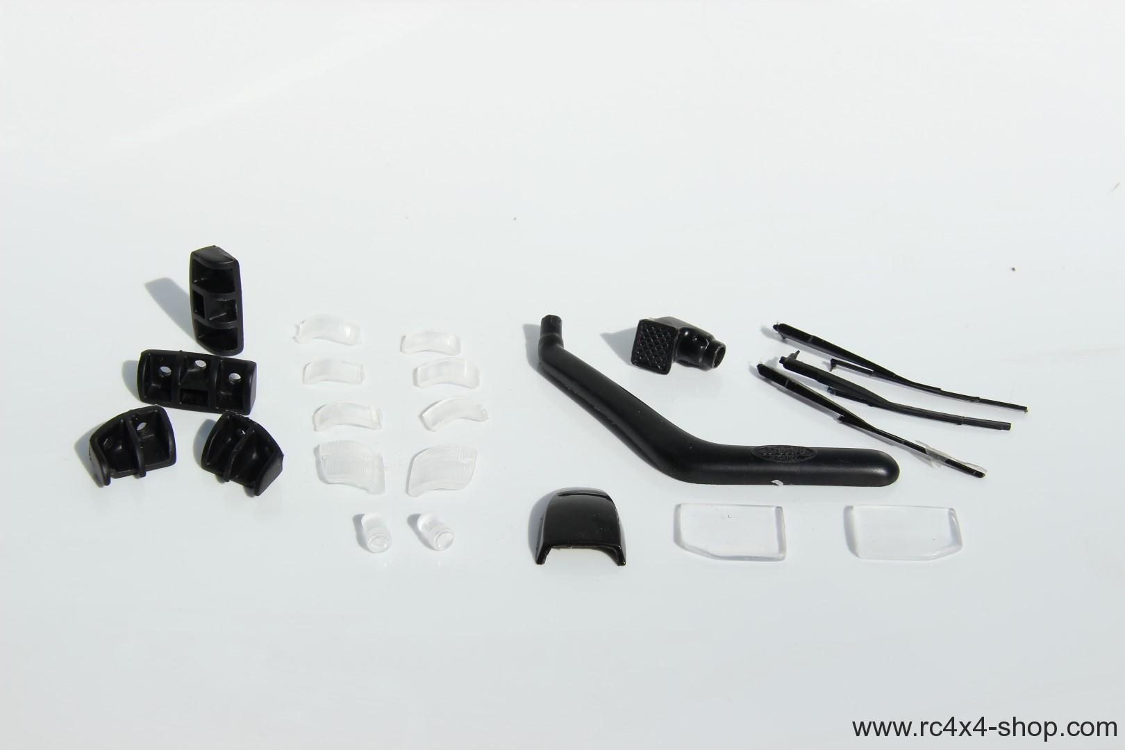 Small set of accessories for Mitsubishi Pajero