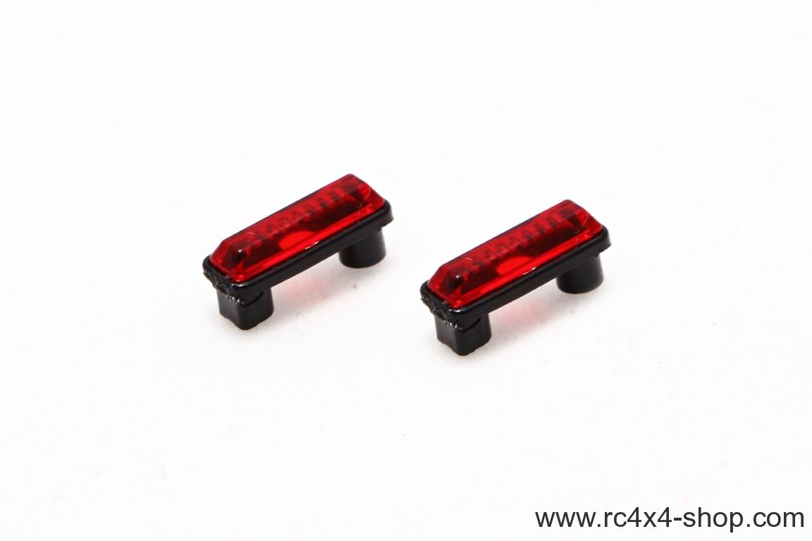 Position lights, high, red, 1 pair