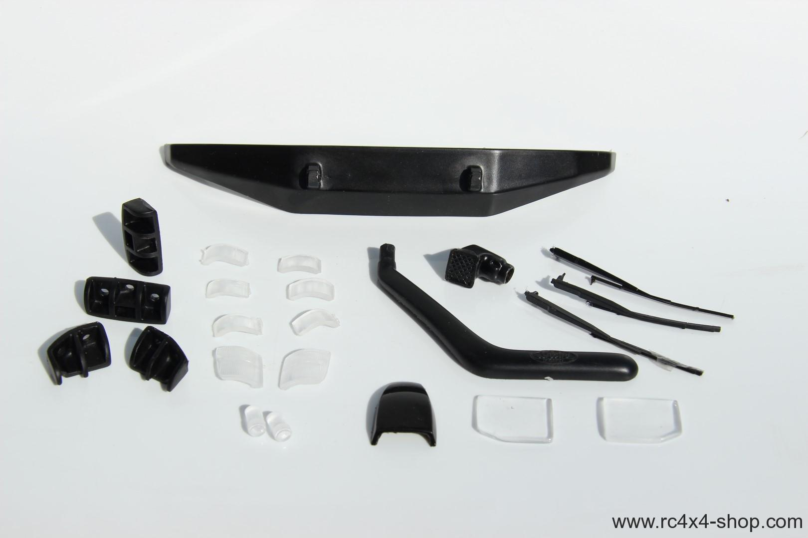 Large set of accessories for Mitsubishi Pajero