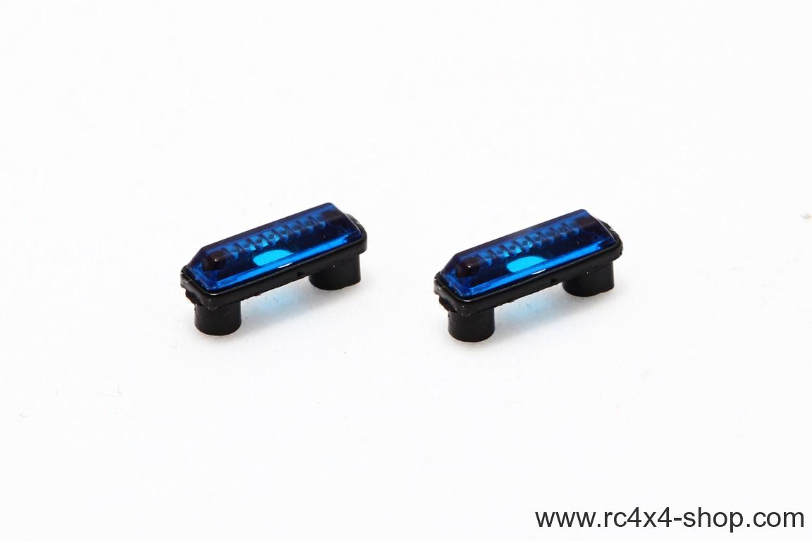 Position lights, high, blue, 1 pair