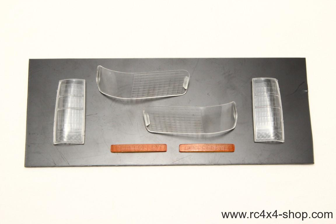 Clear Light Covers Set for Toyota LC80