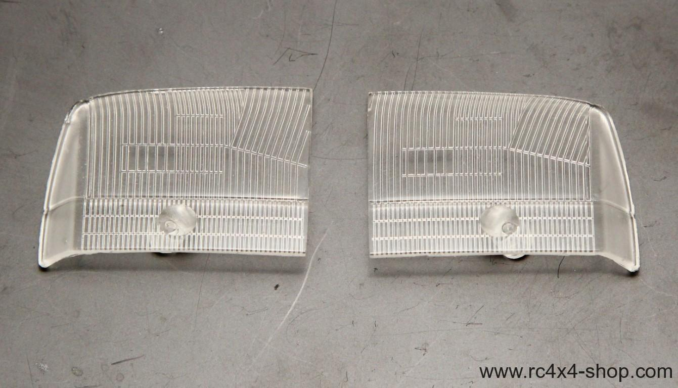 Ford F350 Front Lights Clear Covers