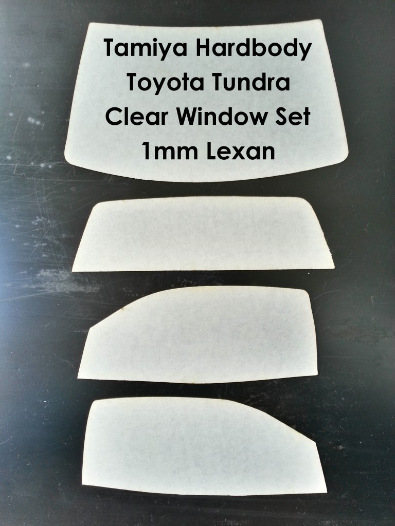 Toyota Tundra Clear Window Set