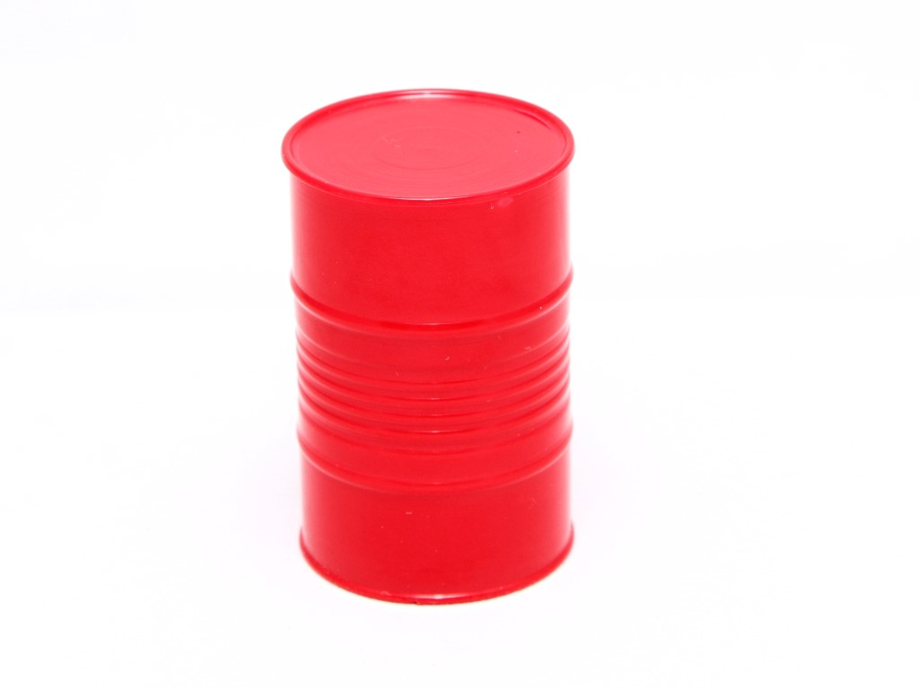 Scale Fuel Barrel, Red