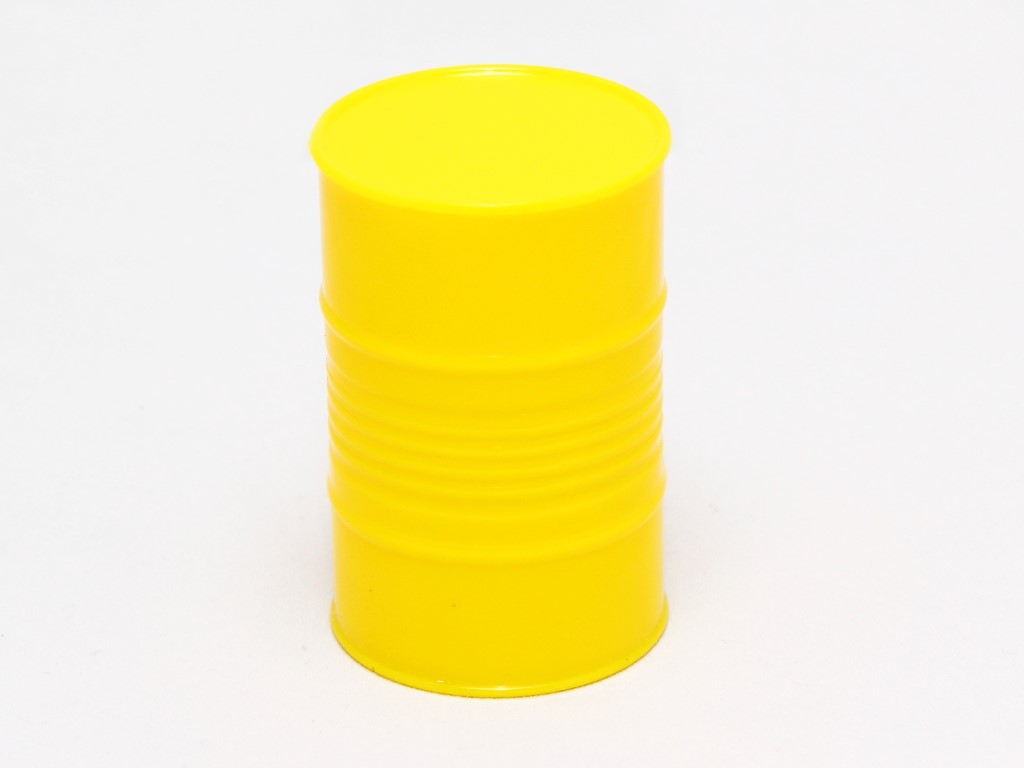 Scale Fuel Barrel, Yellow