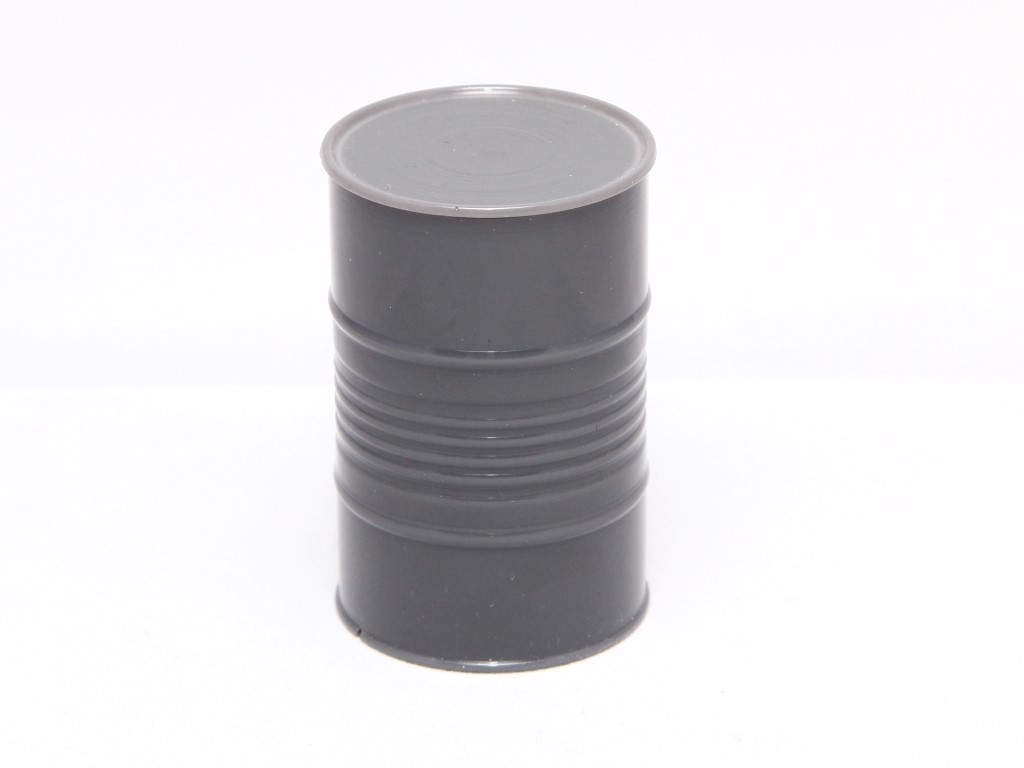 Scale Fuel Barrel, Grey