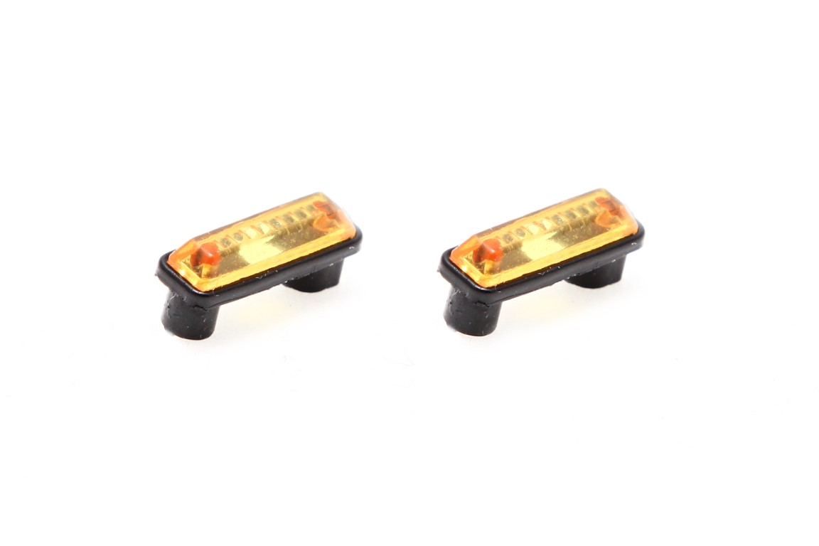 Position lights, high, orange, 1 pair