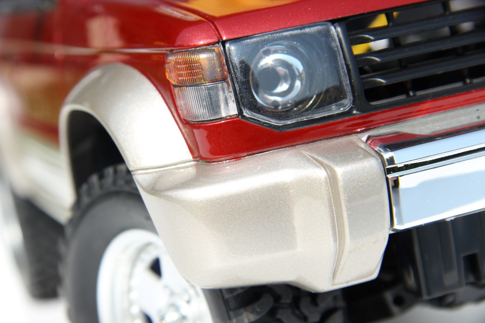 European headlight covers for Mitsubishi Pajero