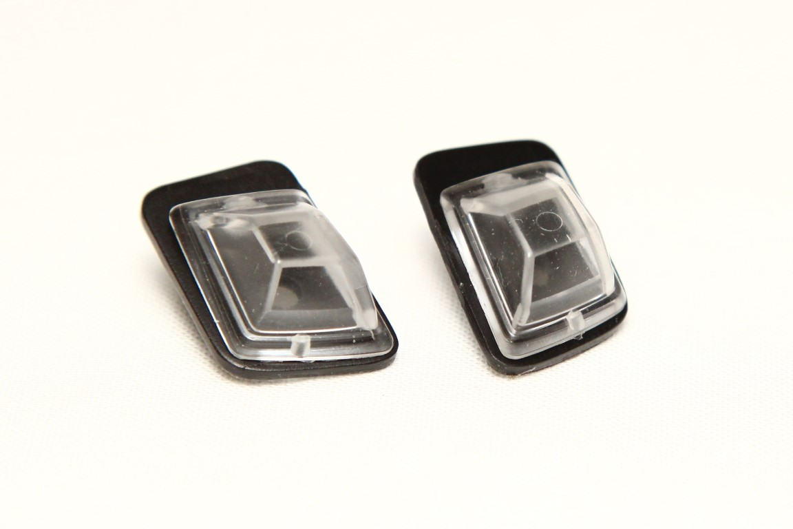 Position lights for Mercedes G Class Tamiya CC-02, clear