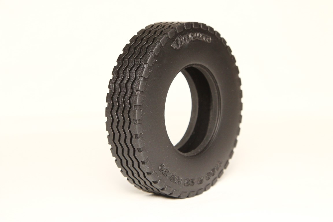 Truck tire 1/10 Scale, road version, 1 pair