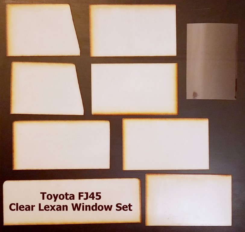 Toyota FJ45 Clear Window Set