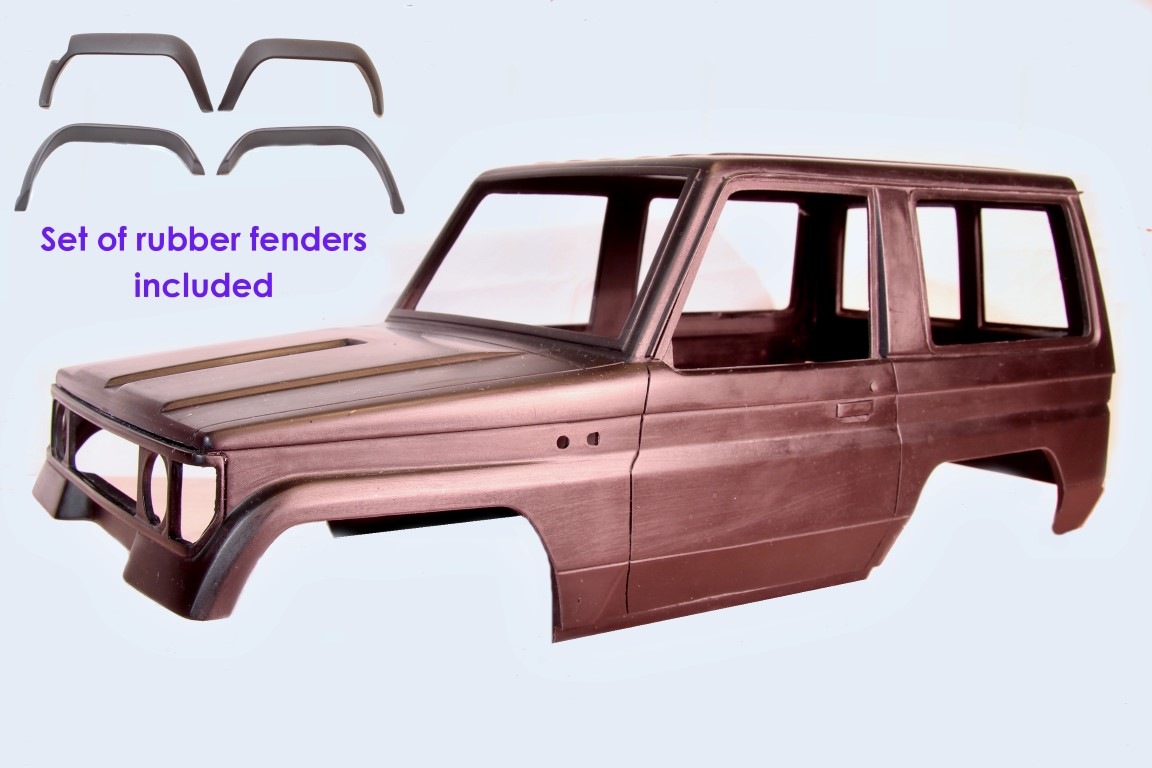 Toyota Land Cruiser LJ70 Hardbody with Fenders