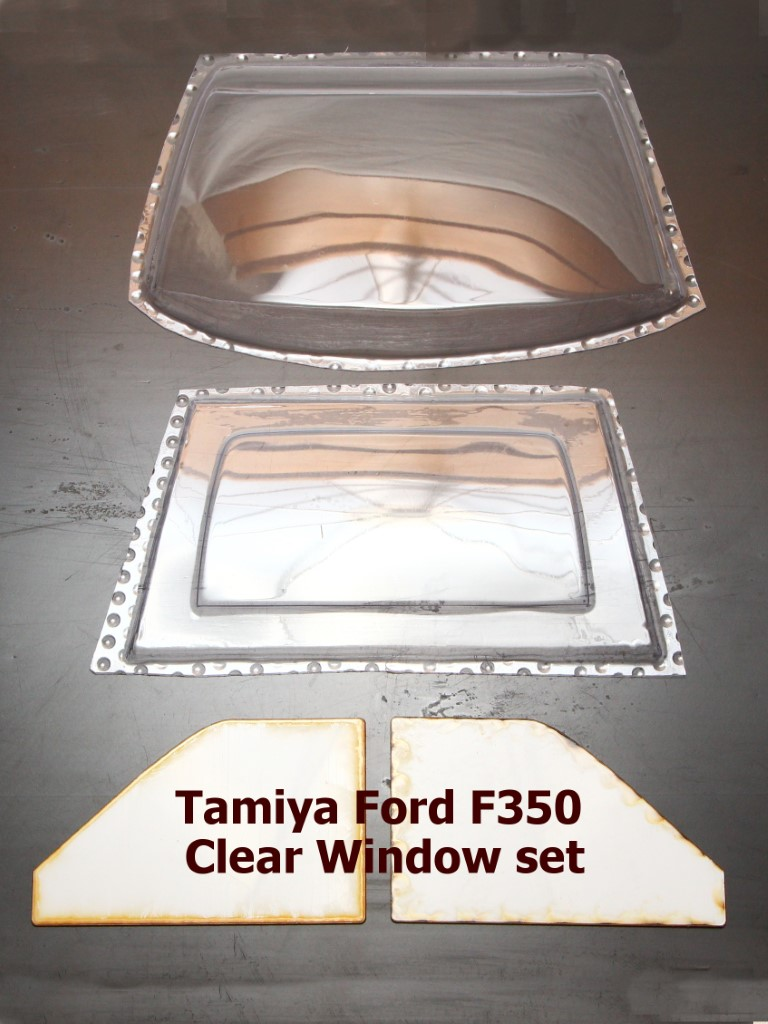 Ford F350 (Tamiya) Clear Window Set