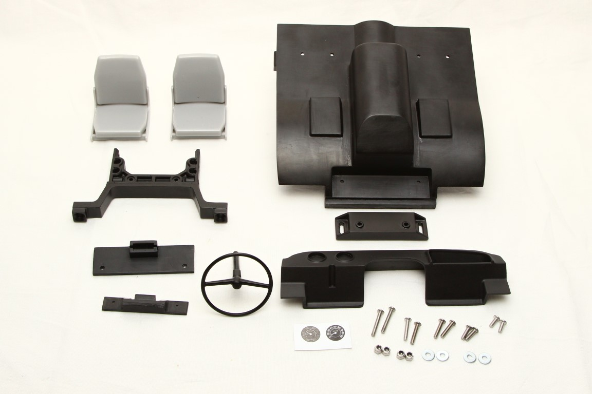 Interior and body mount set for Mercedes Unimog U406