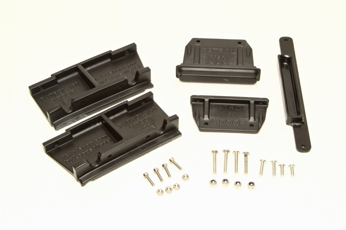 MST CFX / CMX Body mounts for Nissan Patrol Y60 3 Door