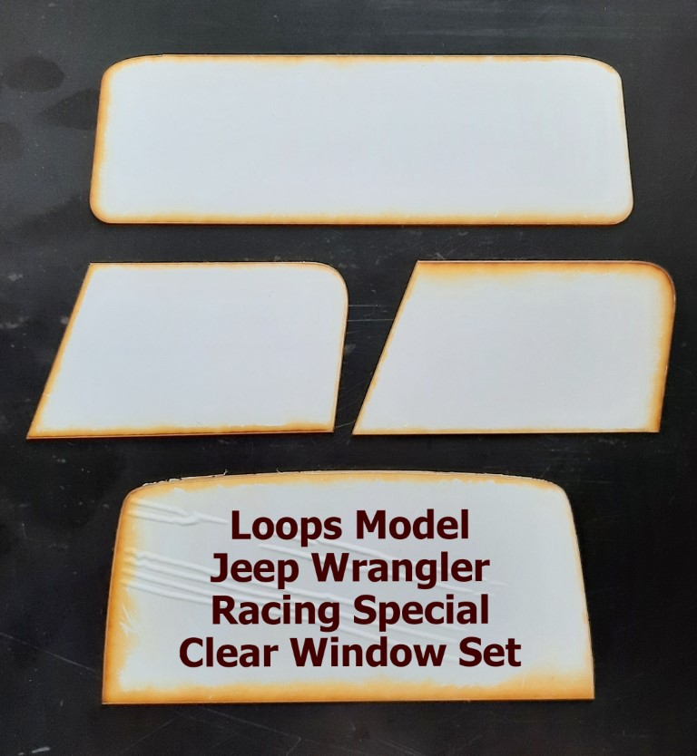 Jeep Wrangler Racing Special Clear Window Set
